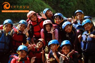 rafting-putera-harapan-school-purwokerto